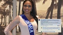Sara, finaliste de Miss Mauritius : « Je ne trouve pas que mon visage ressemble à un 'chanapuri mal kwi' »