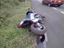 Accident à Midlands : un motocycliste a le bras sectionné