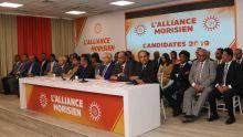 Législatives de 2019 : découvrez les 60 candidats de l'Alliance Morisien