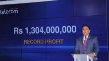 Mauritius Telecom : profit record de Rs 1,3 milliard depuis 2014