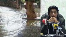 Accumulation d'eaux usées à Rose-Hill : «Un plan de déviation en cours», annonce Bodha