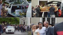Drame à Tamarin : vive émotion aux funérailles de Doris l'Enflé et Lelio Zéphire