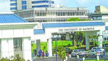 University of Mauritius'exams being conductedin gymnasium