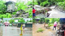 Torrential Rains incite chaos all over the island