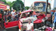 Accident fatal à Port-Louis : «Le bus roulait si vite que je ne l'ai pas vu venir», dit le conducteur du 4x4