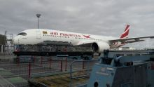 Aviation : atterrissage réussi pour le nouvel Airbus A350 d'Air Mauritius, le Pieter Both