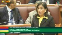 Parlement : «Le centre commercial Shoprite n'a pas de 'fire hydrant' opérationnel», dit Fazila Daureeawoo