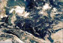 Météo : la perturbation tropicale devrait passer à 450 km de Maurice dimanche soir