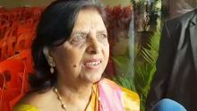 Lady Sarojini Jugnauth évite soigneusement de répondre à une question sur Ameenah Gurib-Fakim