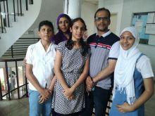 Trois lauréates pour le Droopnath Ramphul State College