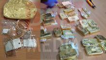 25 kilos d'or saisis à l'aéroport