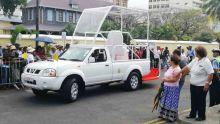 Visite du Pape François : voici la papamobile mauricienne