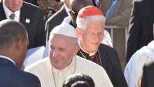 Cardinal Piat : «A nous maintenant de nous laisser inspirer par les paroles du pape afin que sa visite ne reste pas un souvenir...»