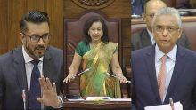 Parlement : Shakeel Mohamed demande au PM de retirer ses mots, la Speaker intervient