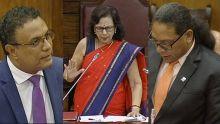 L'opposition cible le ministre des Sports, la séance suspendue