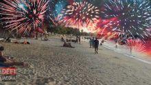 Nouvel An : pas de pétards et de feux d'artifice sur les plages