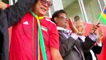 Maurice/Madagascar : la tribune officielle explose après l'égalisation du Club M par Ashley Nazira