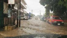 Averses orageuses : la route entre le rond-point de Forbach et Fond-du-Sac fermée à la circulation