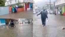 Inondations – rues impraticables à Port-Louis