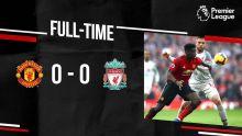 Premier League : les 7 matchs nuls de Liverpool, dont celui chez le rival à Old Trafford, ont pesé lourd