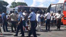 Gare du Nord : les autorités policières montrent les muscles