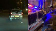 La folle virée de Yadesh Hookoom, en fuite dans un 4x4 de la police