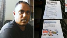 Calebasse : Pravesh Seegobin porte plainte à la CID après des problèmes avec son locataire