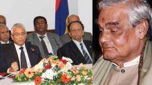 Pravind Jugnauth : «Vajpayee était un grand ami de SAJ»