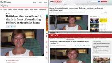 [VIDÉO] Le meurtre de l'Ecossaise Janice Farman à Maurice largement répercuté dans la presse britannique