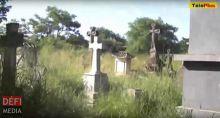 Profanation de tombes au cimetière de Bois-Marchand