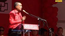Meeting du PTr à Port-Louis : Patrick Assirvaden demande aux journalistes de la MBC de rebrousser chemin