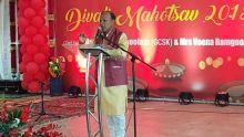 Célébrations de Divali : RajendraRamdhean met en garde les gens qui forcent les autres à se convertir