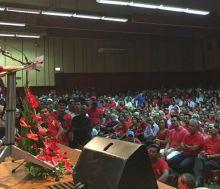 PTr: Navin Ramgoolam «satisfait» de la foule lors du congrès-anniversaire