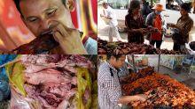 Entre Rs 9 et Rs 45 : la brochette de rat de plus en plus populaire sur les routes du Cambodge