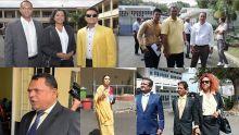 [En images] Nomination Day : les candidats du Reform Party sont arrivés dans les différents Nomination Centres