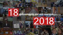 Rétrospective: 18 évènements qui ont marqué 2018