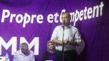 «Ni MSM ni PTr. Zot kone isi zot dhal pas pou cuit. Numero 2 pas contant traitres», dit Reza Uteem