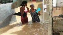 Avis de fortes pluies – de nombreuses maisons inondées à Riche-Terre