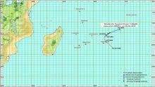 Météo : Funani désormais une forte tempête tropicale, l'alerte 2 maintenue
