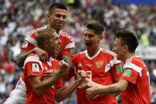 Mondial 2018 : débuts de rêve pour la Russie