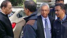 Agression mortelle : SAJ et Pravind Jugnauth chez la famille Koonjul