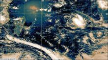 Météo : la forte tempête tropicale Bouchra à 2550 km de Maurice
