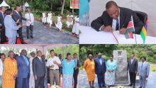 Visite du Président du Kenya au Morne