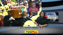 JT - Funérailles de Désiré L'Enclume : dernier hommage à l'ancien footballeur, héros national en 1985...