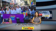 Le JT : Marche pour l'égalité – incident mineur