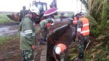 Cilida : des soldats de la SMF à pied d'œuvre