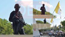 Sainte-Croix : un membre des forces spéciales présent pour assurer la sécurité du pape François