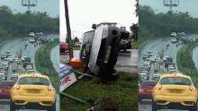 Accidents : deux sorties de route enregistrées