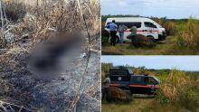 Corps calciné à St-Félix : la victime portait une profonde entaille au cou
