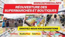 Réouverture des supermarchés et boutiques : des internautes proposent des alternatives